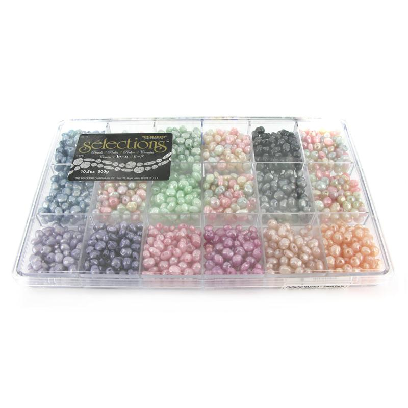 Selections Giant Pastel Pearl Bead Box