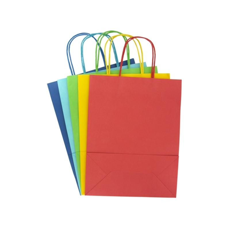 Bright Ready to Decorate Gift Bags 5 Pack