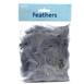 Grey Craft Feathers 5g