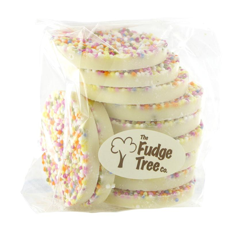 The Fudge Tree Giant White Chocolate Jazzies