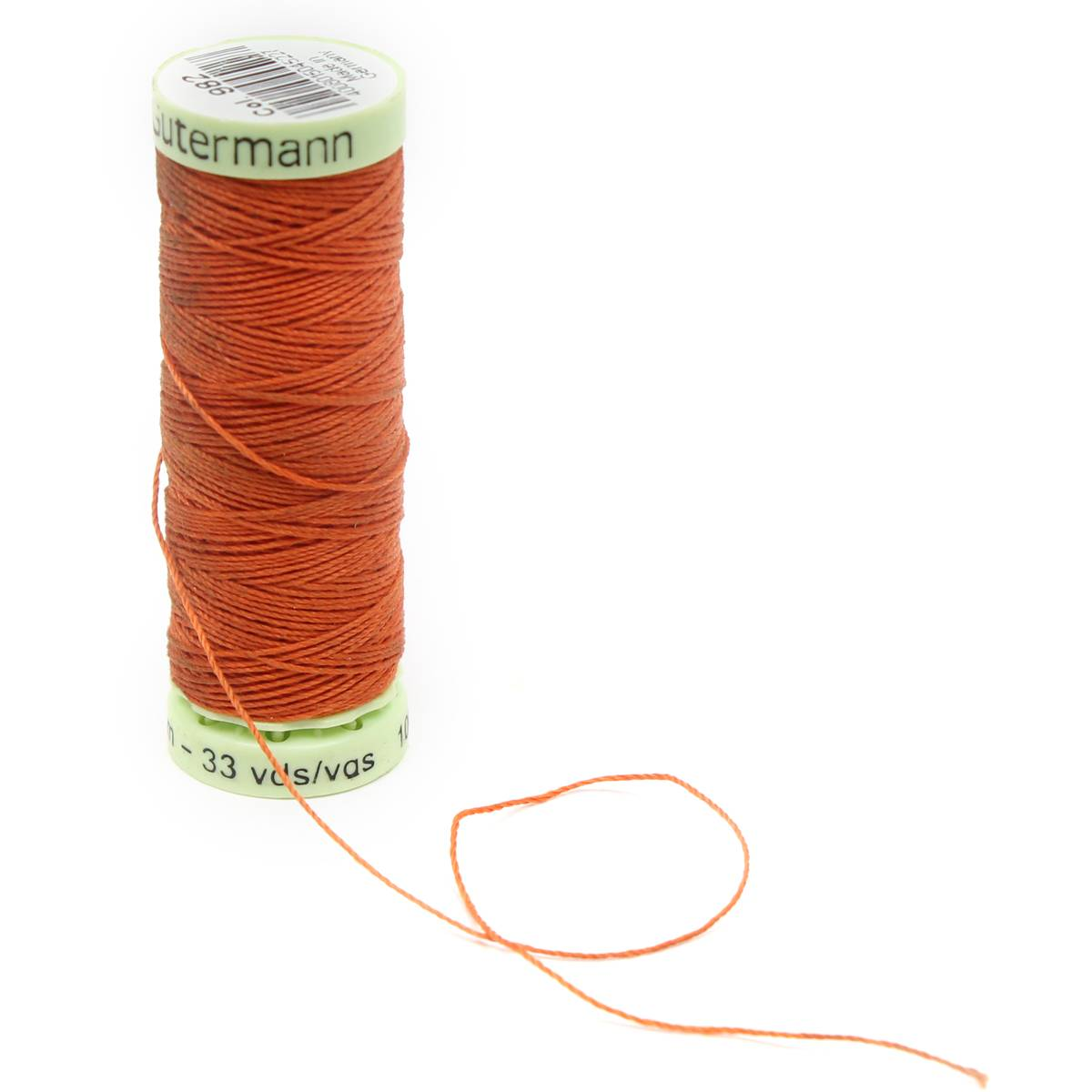 Gutermann Orange Top Stitch Thread 30m (982)