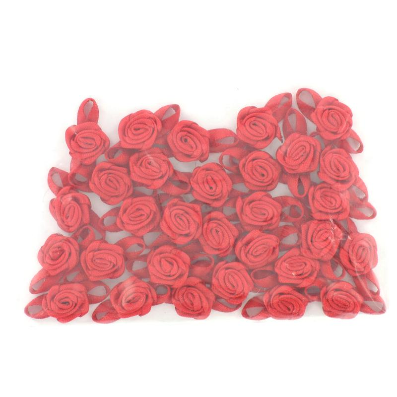 Red Satin Ribbon Bow 30 Pack