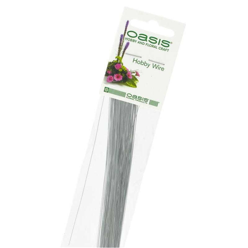 Oasis Silver Hobby Wire 18 cm