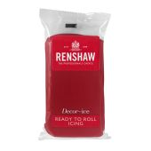 Renshaw Ready To Roll Ruby Red Icing 250g