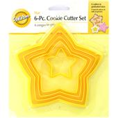 Wilton Star Shaped Cookie Cutter Set 6 Pieces