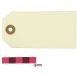 Ivory Gift Tags 11 cm 30 Pack
