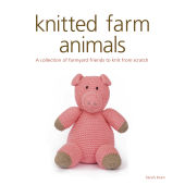 Knitted Farm Animals Book