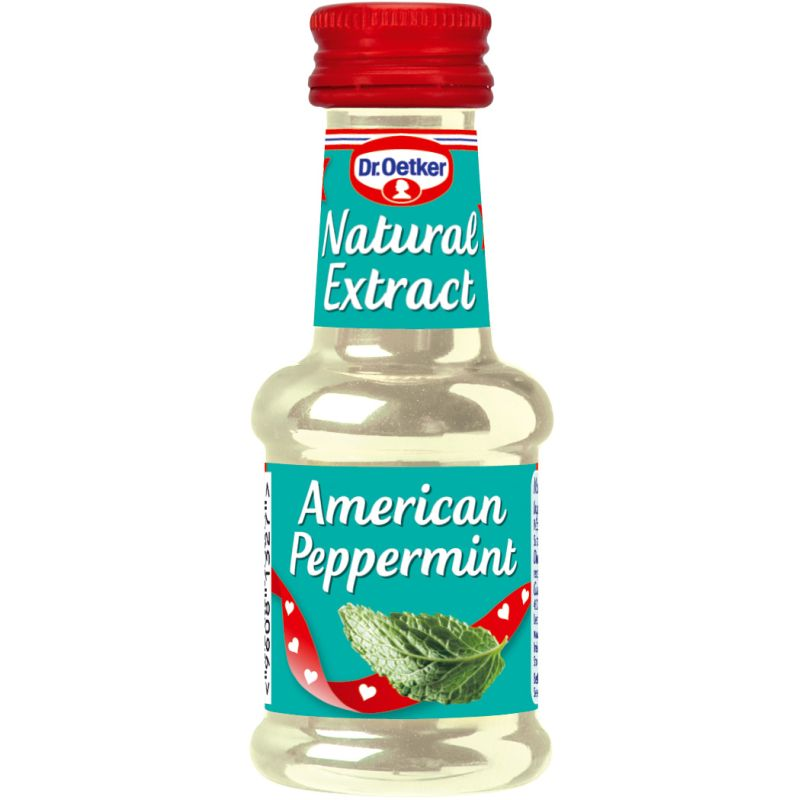 Dr Oetker Natural American Peppermint Extract 35 ml