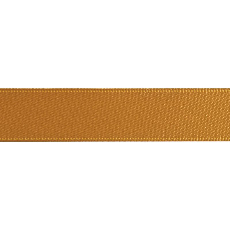 Gold Double-Faced Satin Ribbon 3mm x 5m