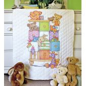 Baby Drawers Quilt Cross Stitch