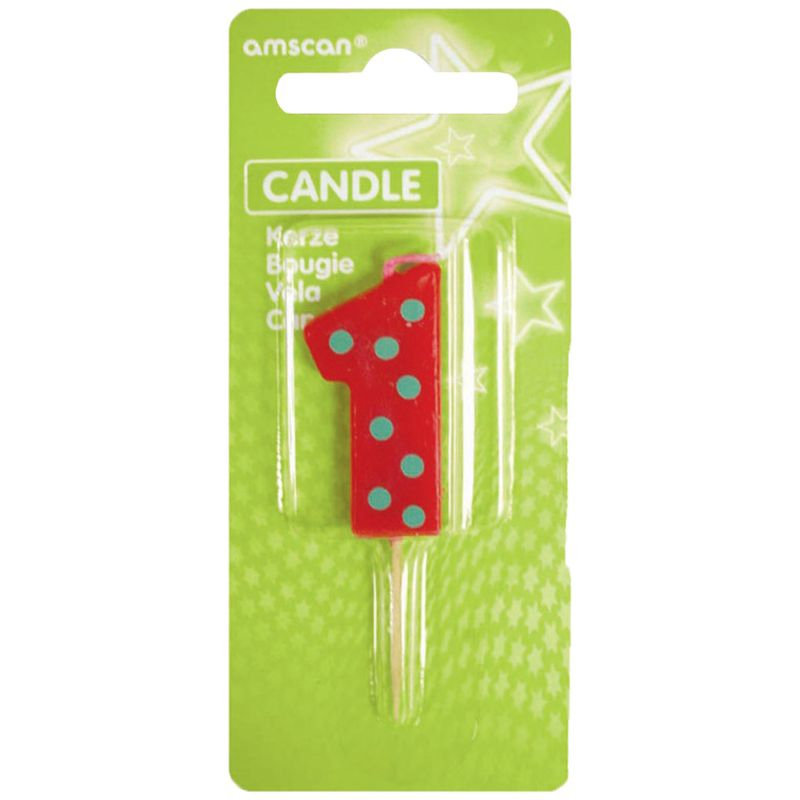 Amscan Number 1 Pick Candle