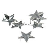Star Claw Studs Silver 8 Pack