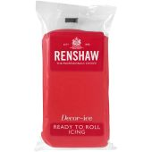 Renshaw Ready To Roll Poppy Red Icing 250g
