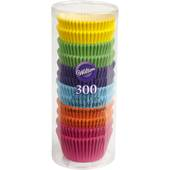 Wilton Rainbow Brights Cupcake Cases 300 Pack