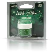 Rainbow Dust Holly Green Edible Glitter
