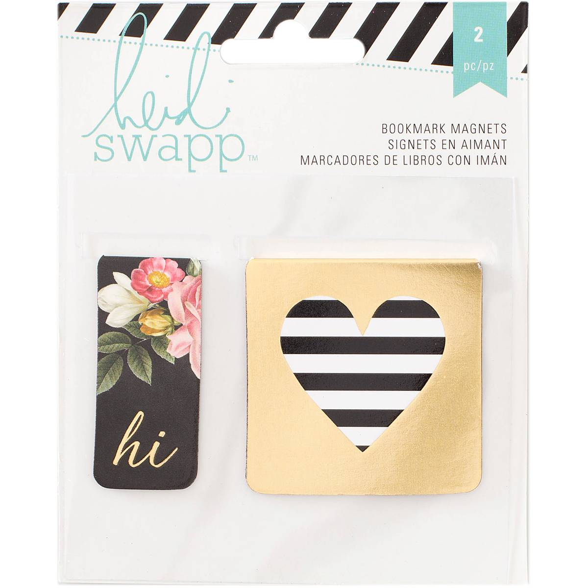 Heidi Swapp Bookmark Magnets 2 Pack