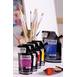 Sennelier High Gloss Mars Black Abstract Acrylic Paint Pouch 120 ml
