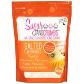 Sugar and Crumbs Salted Caramel Natural Flavoured Icing Sugar 500 g