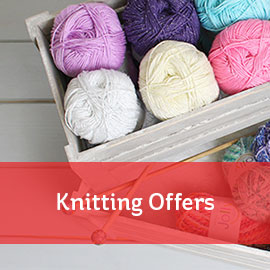 Knitting & Crochet Offers